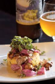 Jolly Pumpkin Brewery Ann Arbor by Crispy Grits With Sweet And Sour Beets And Mushrooms Recipe