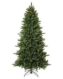 9 Ft Flocked Pencil Christmas Tree by Slim And Pencil Artificial Christmas Trees Treetopia