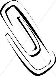 Stylized Paper Clip