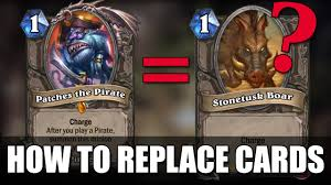 Alarm O Bot Deck Lich King by How To Substitute Cards In Hearthstone U2013 Finding Replacement Cards