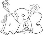 o dots alphabet s4f29 Coloring pages Printable
