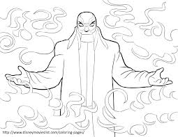 Yokai Is The Evil Mystery Bad Guy In Movie Big Hero Who Behind That Mask Print Out And Have Fun With This Free Coloring Page