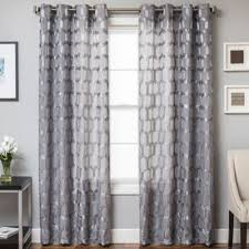 Gray Sheer Curtains Bed Bath And Beyond by Rochelle Grommet Top Window Curtain Panel Www Bedbathandbeyond