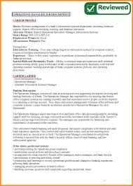 Branch Operations Manager Resume