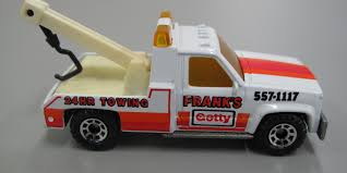 100 Matchbox Tow Truck Toy Tow Truck GMC Wrecker Franks Getty 24 HR Ing