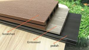 Popular Building Finishing MaterialsUsed Composite DeckingHigh