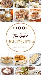 Kraft Pumpkin Mousse Trifle by 100 No Bake Thanksgiving Desserts Prudent Penny Pincher
