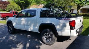 Bike Rack For 2017 Tacoma TRD Offroad | Tacoma World Pvc Truck Bed Bike Rack Camping Pinterest Bed Bike Rack 58 Pickup Pipeline Bicycle Diy For Bradshomefurnishings Product Review 1up Usa Fat Quik Best Choice Products 4 Four Pick Up Of The Swagman Pickup Truckbedbike Racks On A 2015 Toyota Topline 2 Carrier Mounted Expandable Cars Truckss Yakima For Trucks Steel Hitchmounted 4bike Fits 2in Hitch Receiver Www Inside By Heinger On Sale Until Friday 2011 Ford F150 Tacoma Mount Victoriajacksonshow