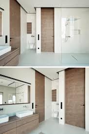 bündige innentür für das badezimmer moderne türgriffe