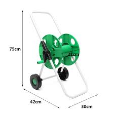 Garden Hose Portable Water Pipe Rack Garden Watering Trolley ABS ...