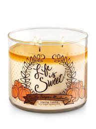 Pumpkin Waffle Candle by Vanilla Pumpkin Marshmallow 3 Wick Candle Bath U0026 Body Works