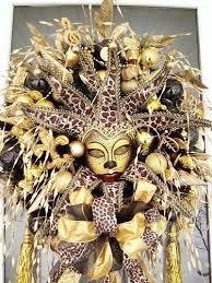 carnival nude cosplay costume door decoration mardi gras mask