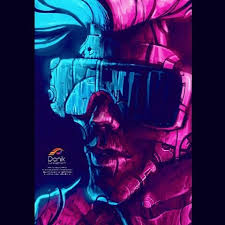 New Retro Wave Concept Art
