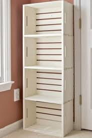 Making A Wooden Shelving Unit by Best 25 Bathroom Storage Shelves Ideas On Pinterest Decorative
