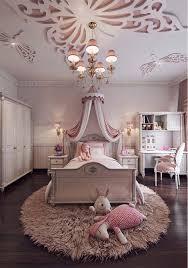 Feminine Bedroom Interior Design For Little Girls
