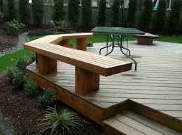 wood bench designs for decks plans diy free download simple wooden