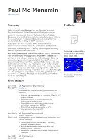 Vp Application Engineering Resume Example