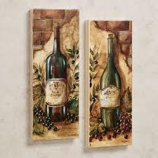 Rustic Wine And Grape Kitchen Decor