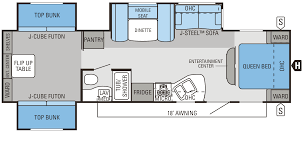 Jayco 2014 Fifth Wheel Floor Plans by 2014 Jay Flight Floorplans U0026 Prices Dunlap Rv Center