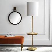 End Table With Lamp Attached Walmart by Floor Lamp With Table