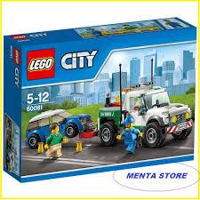 Lego City # 60081 Series Pickup Tow Truck Set | Elevenia