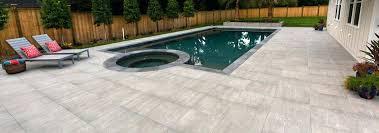 porcelain pavers by style porcelain tile installation on concrete