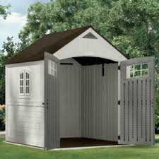 Rubbermaid 7x7 Gable Storage Shed by Suncast Cascade Shed Reviews And Information Outsidemodern