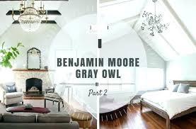 Grey Owl Gray Living Room Color Spotlight More Ben Moore Lrv Benjamin Bathroom