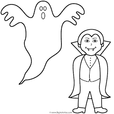 Haunted Halloween Crossword Puzzle by Ghost With Vampire Coloring Page Halloween