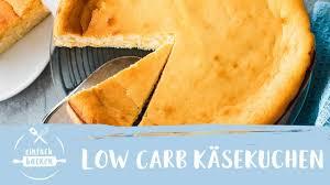 low carb käsekuchen simpel lecker