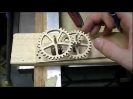 toucan an electric wooden gear clock youtube