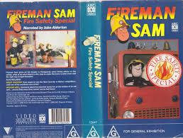 Ebay Home Decor Australia by Fireman Sam Fire Safety Special Vhs Pal Video A Rare Find Ebay