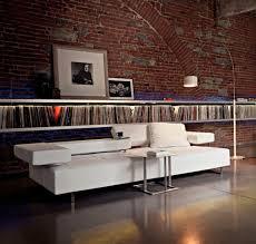 canap arketipo canapé contemporain en cuir 3 places inclinable loft by