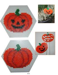 Halloween Perler Bead Templates by 107 Best Perle Hama Images On Pinterest Hama Beads Diy And Autumn