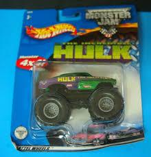 100 Hulk Monster Truck Hot Wheels 2002 Jam THE INCREDIBLE HULK SEALED EBay