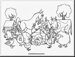 Great Printable Farm Animal Coloring Pages For Kids With Free And