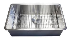 Karran Edge Undermount Sinks by 30 Inch 16 Gauge Undermount Single Bowl Stainless Steel Sink 15mm