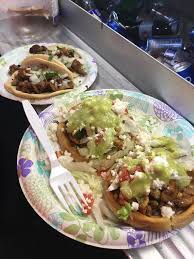 OC] Stopped At A Taco Truck Got Sopes And Tacos Al Pastor ...