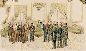 King Kalakaua Visiting Ulysses S Grant In The White House