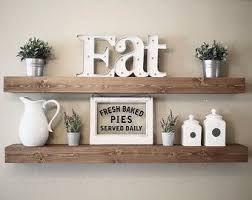 Rustic Wooden Picture Ledge Shelf Gallery Wall