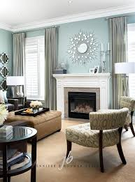 pale teal living room by brouwer design inc for the