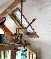 DIY Copper Lamp Tutorial Custom Design For My Tiny House