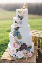 White Round Rustic Country Ethereal Outdoor Wedding Cake