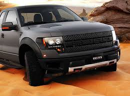 recon part 264190bk smoked projector headlights ford raptor