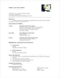 Reference For A Resume On Examples Example Of References Format With