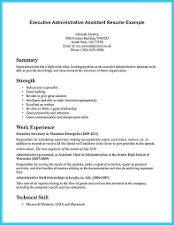 Administrative Assistant Resumes Lovely Resume Template Executive