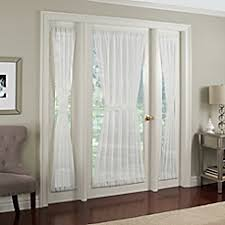 Bed Bath And Beyond Semi Sheer Curtains by French Door Curtains Bed Bath U0026 Beyond