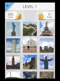 Word Pic Quiz World Travel