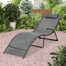 corliving pjr 429 r riverside folding reclined black and silver
