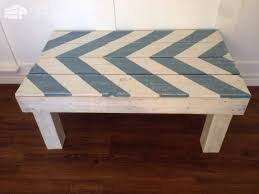 Painted Pallet Coffee Table Tables